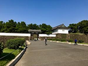 Das Sakuradamon heutzutage