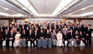 Die Ernennungszeremonie des 7. Sōke, Ōtsuka Ryūnosuke, 2016 in Tōkyō
